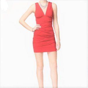 EMERALD SUNDAE Coral Mini Dress Size Medium